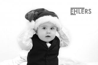 photosbyehlers.com - baby julebillede